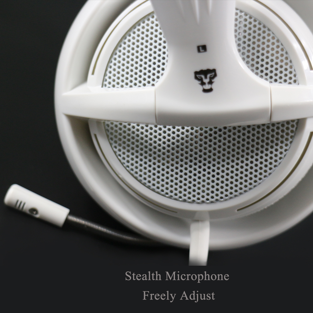 Xibter stereo igralne slušalke z mikrofonom modro LED svetlobo - Prenosni avdio in video - Fotografija 2
