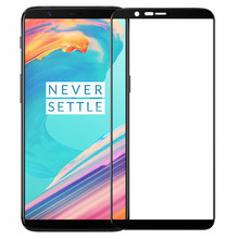 Full Cover Tempered Glass Screen Protector For Oneplus 5 5T 6 Shatterproof Protector Glass For Oneplus 9H Screen Protection(China)