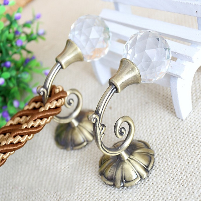 Hook Curtain-Tieback Decoration Hanging Small Cp002--Nt 1-Pair Wholesale Hollow Retail