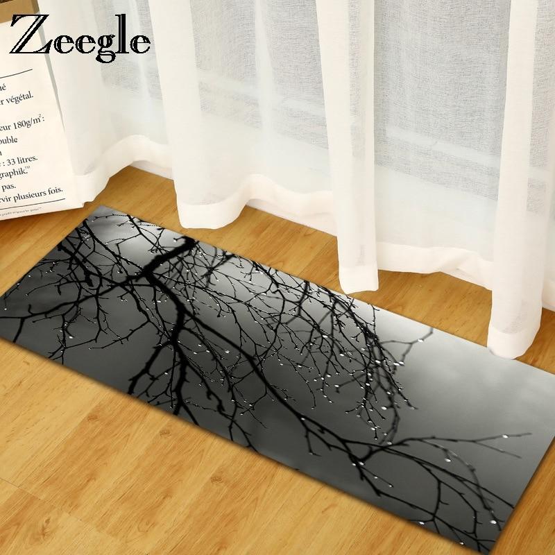 zeegle 3d k che boden matte anti slip bereich teppich f r wohnzimmer schlafzimmer teppiche nacht. Black Bedroom Furniture Sets. Home Design Ideas