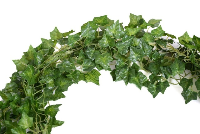 Artificial Fake Hanging Plant Leaves Garland Home Garden Wall Decoration  English Ivy Silk Greenery Wedding Garlands