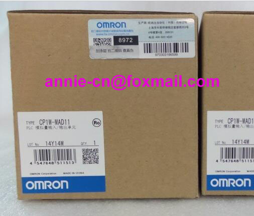 100% New and original  CP1W-MAD11  OMRON PLC CONTROLLER   Analog input/output module cp1w 16er new and original omron plc controller plc module