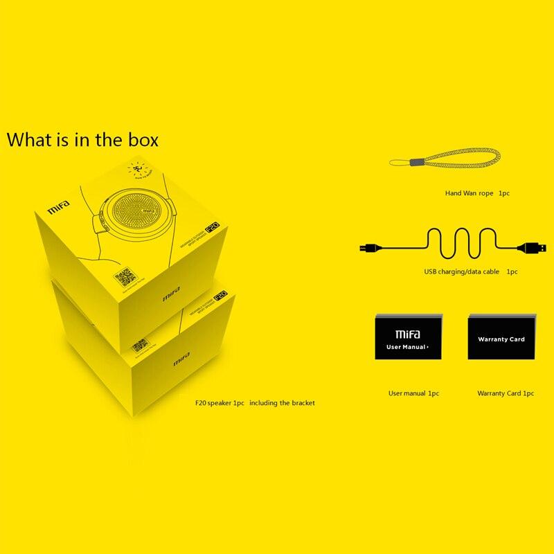 Mifa F20 Bærbare Bluetooth Højttalere Bluetooth 4.0 Sport Trådløs - Bærbar lyd og video - Foto 5