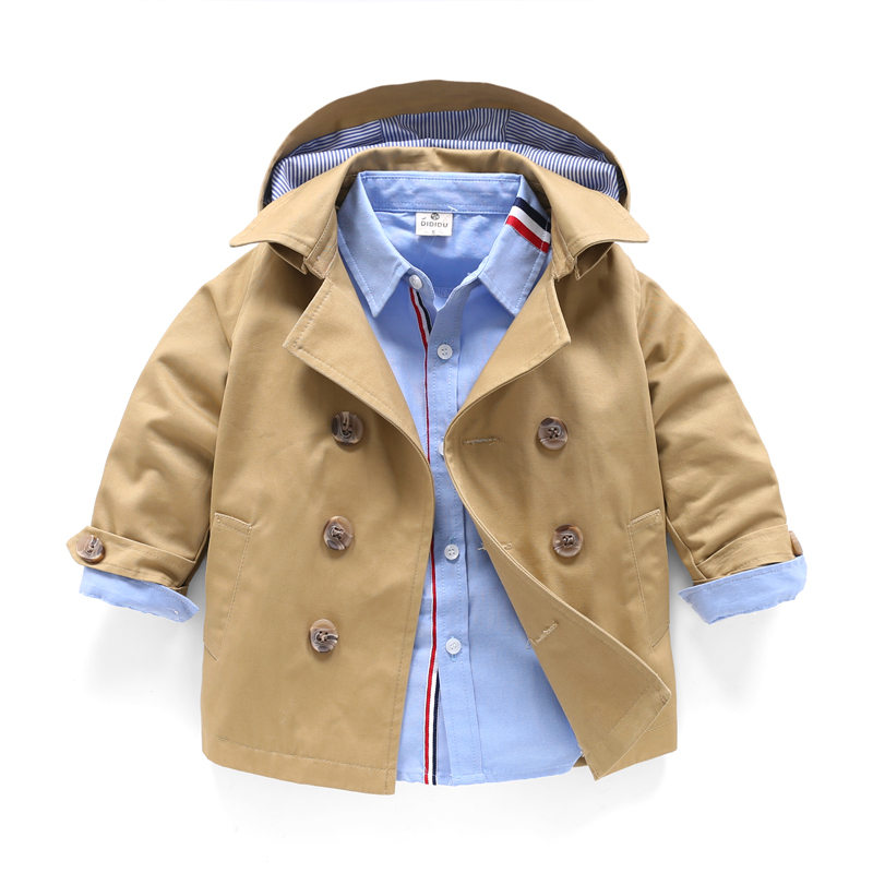 Fashion Big Boys Children Jacket outerwear Trench coat kids clothes for Boys jacket Autumn Spring children clothing 8 10 Years boys suit new spring autumn teen boys single breasted blazers casual wedding coat jacket children s top clothing kids clothes
