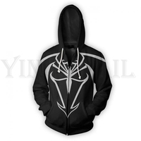 c48265e7e Men And Women Zip Up Hoodies Venom Spiderman 3d Print Hooded Jacket Mravel  4 Movie Superheroes