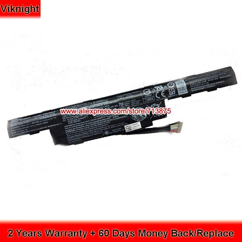 Genuine AS16B5J Battery For Acer E575G Series 3INR/19/65-2 AS16B8J kingsener new as16b5j laptop battery for acer aspire e5 575g 53vg 3icr19 662 2 as16b8j free 2 years warranty
