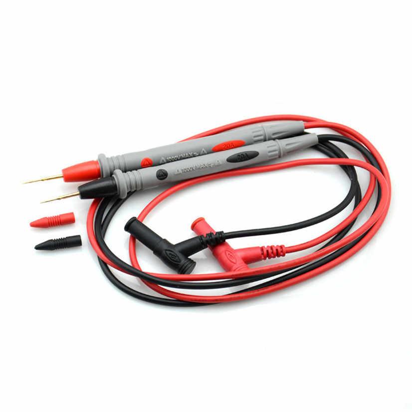 Factory price Universal Digital Multimeter Multi Meter Test Lead Probe Wire Pen Cable de la pluma de mesa J08T Free Shipping