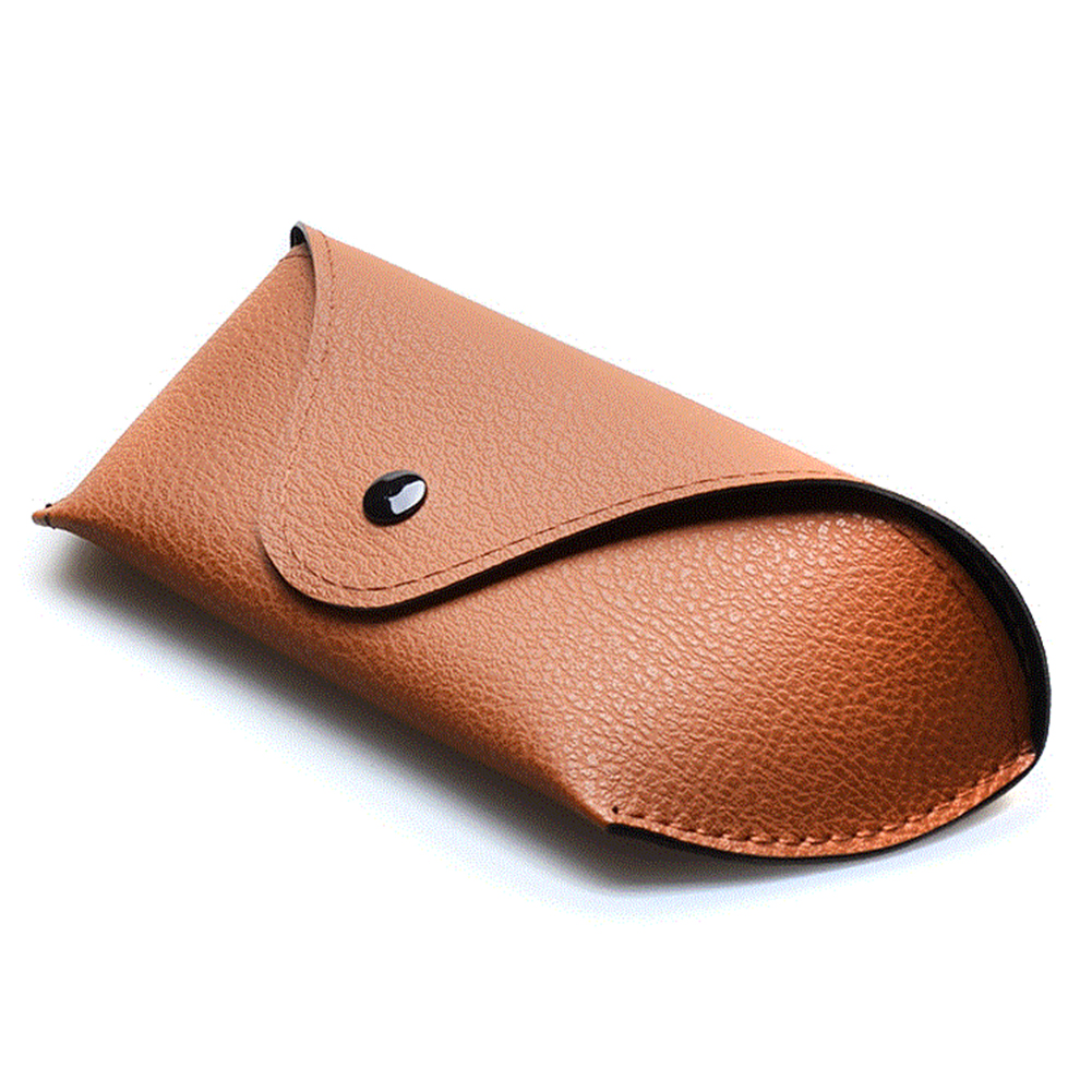 New Glasses Case Students Soft Durable PU Leather Glasses Case High Quality Portable Sunglasses Eyeglasses Glasses Case