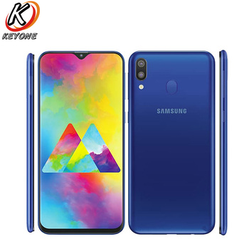 Перейти на Алиэкспресс и купить Новый Samsung Galaxy M20 M205F-DS LTE мобильный телефон 3 ГБ ОЗУ 32 Гб ПЗУ Exynos 7904 Восьмиядерный Android 8,1 двойная задняя камера смартфон