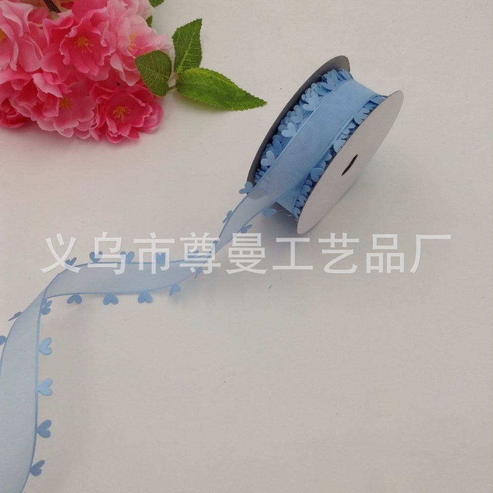 Two Sides Of The Heart Embossed Yarn With Craft Edging Belt Classic Clothing Home Improvement Accessories Made Of Polyester in Webbing from Home Garden