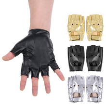 Half Finger Gloves Men PU Leather for Motocycle Fingerless Luva Military Tactical Women Guantes bike gloves