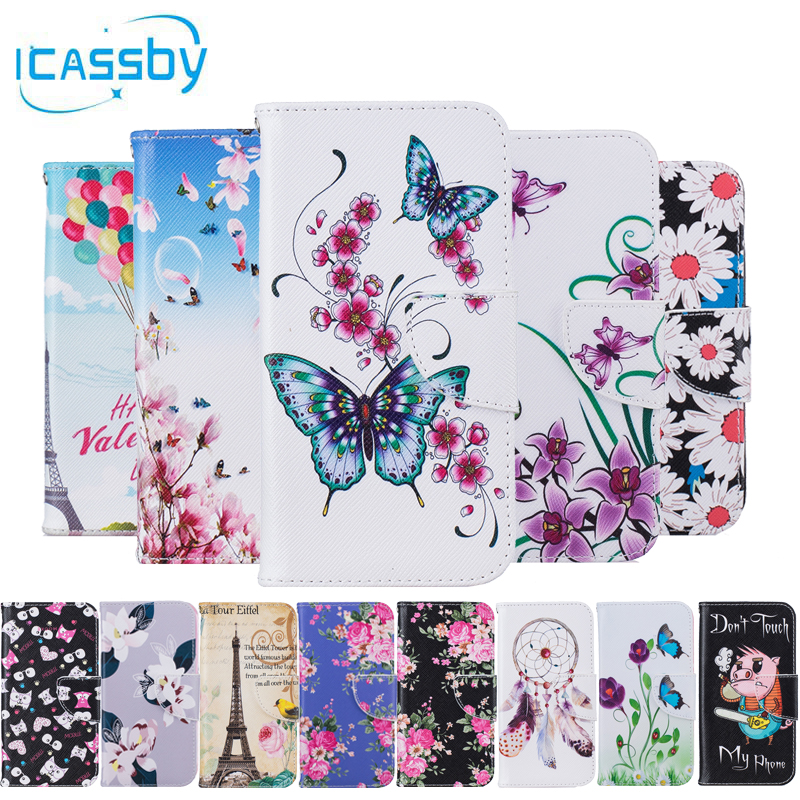 Phone Etui For Coque Huawei Y3 II Case Pig Leather Wallet Flip Cover For Huawei  Y3IIY3 2 LUA U22