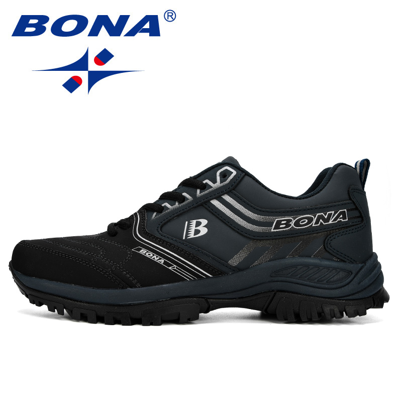 BONA Men Running Shoes Men Sport Shoes Athletic Jogging Shoes Male Trainers Shoes Comfortable Outdoor Sneakers Zapatos De Hombr