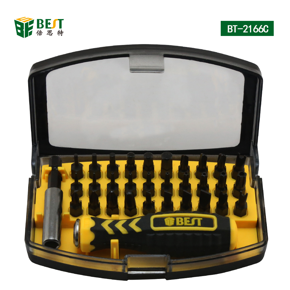Best 2166c 32pcs Multi Purpose Precision Magnetic Screwdriver Set Pigeon Teens Refill Compact Powder Hypoallergenic 20 Gr Gold For Pc Laptop Cell Phone Free Shipping