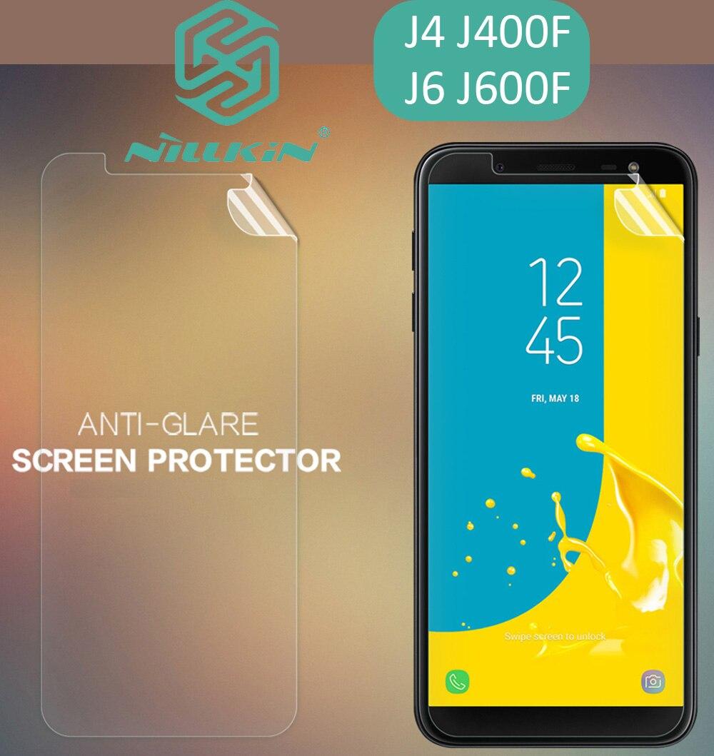 Nillkin Matte HD Clear Screen Protective Film For Samsung Galaxy J4 J6 J600F J400F Soft Transparent Crystal