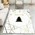 Белые мраморные геометрические ковры большого размера для гостиной  дома  современный ковер для спальни  чайный столик  декор Tapete  Противос...
