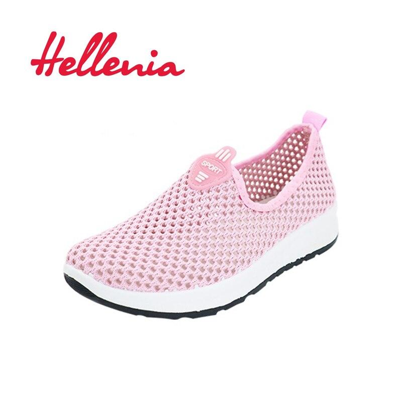 Helleniagirls lichte flats walking meisjes schoenen lente zomer mode - Kinderschoenen - Foto 1