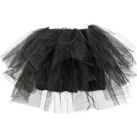 Cute Lolita Satin Mesh Tutu Skirt Girls Dance Club Wear Ball Gown Short Mini Skirts Womens