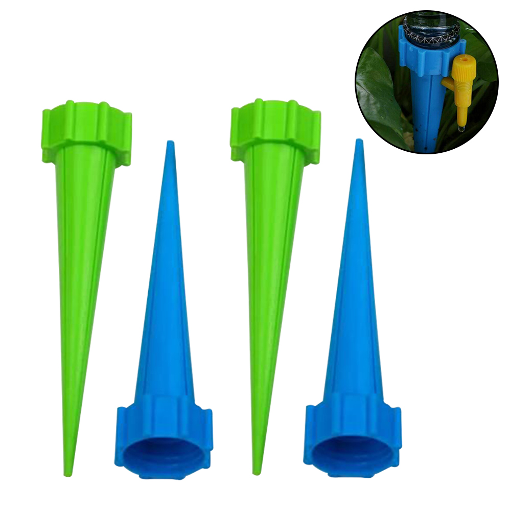 Plant Water Funnel Flower Drip Spikes Automatically Watering System Irrigation