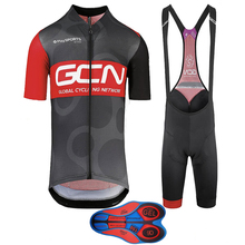 c65a332be UCI 2018 Pro Team Men s Summer Short Sleeve Cycling Jersey 9D Gel Pad Bib  Shorts Kit