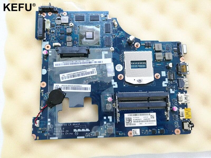 LA-9641P G510 mainboard For Lenovo G510 motherboard Rev:1.0 HM86 VIWGQ/GS LA-9641P USB3.0 PGA947 DDR3 fully tested viwgq gs la 9641p laptop motherboard for lenovo g510 mainboard with ati radeon r5 m230 graphics