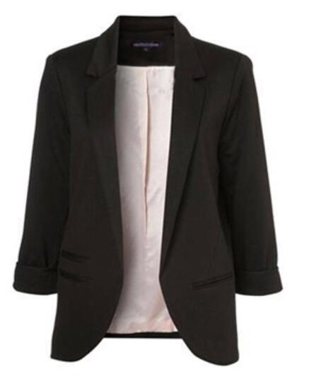 Fit Blazer Jackets Sleeve Blazer Women Coat 1