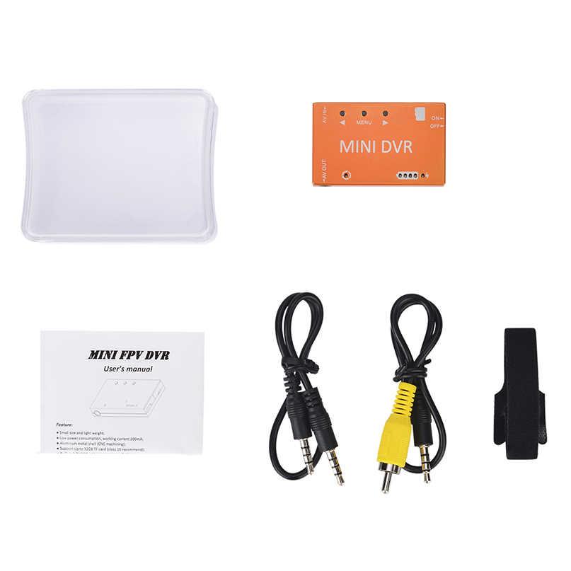 Mini Module FPV DVR NTSC/PAL batterie intégrée commutable enregistreur vidéo FPV Audio pour les modèles de quadrirotor de Drone FPV de course RC