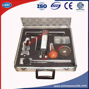 OK-1000 Type Shotcrete Test Set Shotcrete Tester and Special Force Test Kits Shotcrete Penetrometer