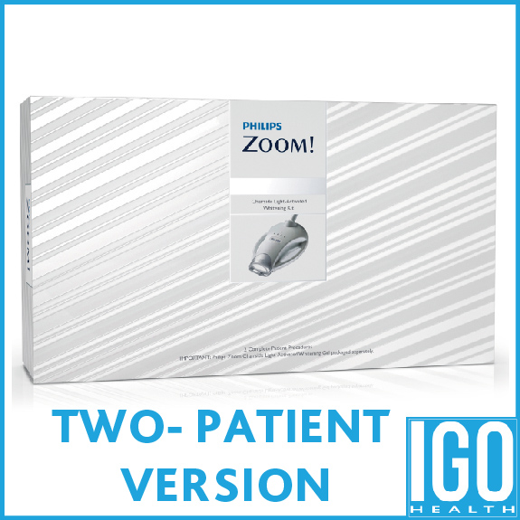 Philips zoom in-office procedure kit ZME2667 2 patient treatment daywhite nitewhite in office whitening kit crest 3d white tooth