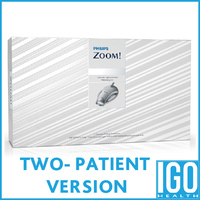 Philips zoom in office procedure kit ZME2667 2 patient treatment daywhite nitewhite in office whitening kit crest 3d white tooth