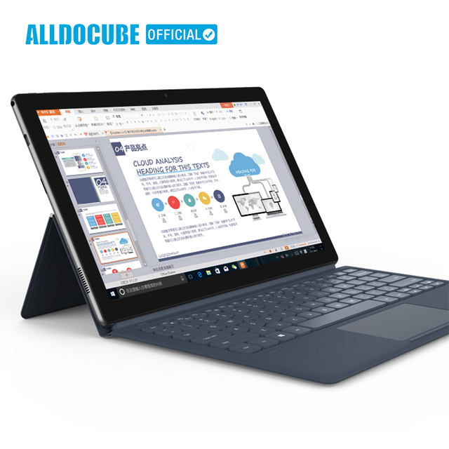 ALLDOCUBE Knote 11.6 Inch Tablet PC 1920*1080 IPS Full-view Windows10 intel Apollo Lake N3450 Quad-core 6GB RAM 128GB ROM Tablet