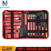 Car Trim Removal Tools Kit Auto Panel Dash Audio Radio Removal Installer Repair Pry Tools Kit Fastener Removal with Storage bag недорого