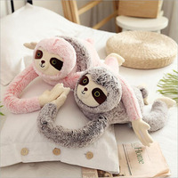 90cm Lovely Long Arm Sloth Plush Toys Stuffed Animal Sloth Soft Plush Doll Toy Children Gift Home Decoration Toys