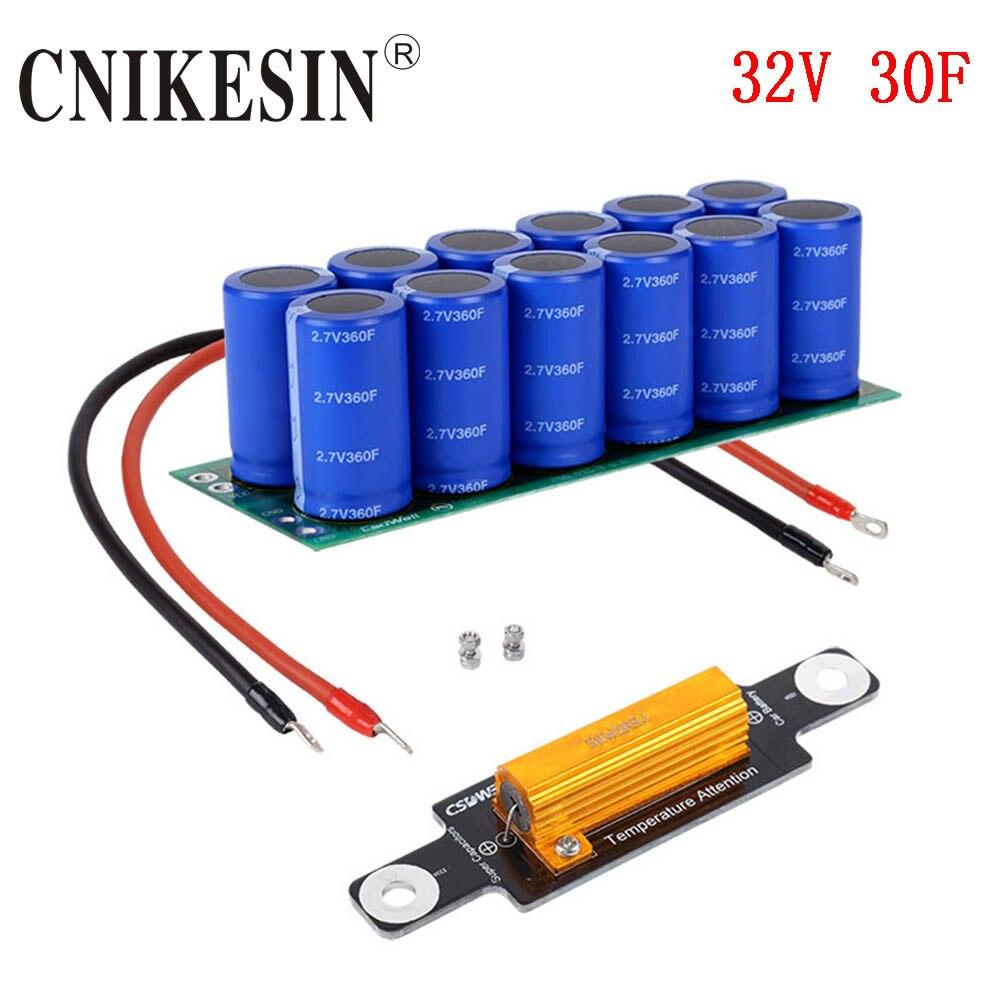 CNIKESIN Super capacitor module 30F 32V Fala capacitor energy storage generator starting super capacitor series voltage 750V360F