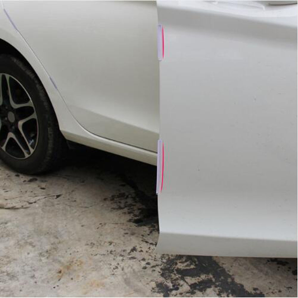 car door edge guards trim molding protection strip scratch protector set for peugeot citroen c4. Black Bedroom Furniture Sets. Home Design Ideas