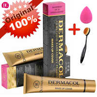 Dermacol Makeup Cover Authentic 100% Original 30g Primer Concealer Base Professional Dermacol Makeup Foundation Contour Palette