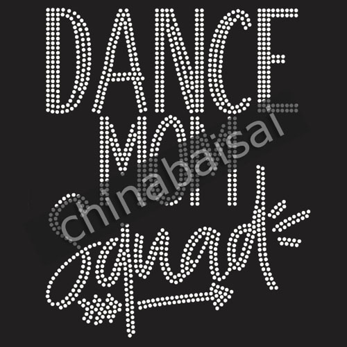 100% Wahr Dance Mom Squad Für Strass Transfer Motiv Designs
