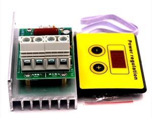 Image 1 - AC 220V 10000W SCR מתח רגולטור בקרת אור עמעום דימרים טרמוסטט מנוע מהירות בקר
