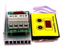 Régulateur de tension SCR, AC 220V 10000W, contrôle de la lumière, gradateurs de gradation, Thermostat, moteur, contrôleur de vitesse