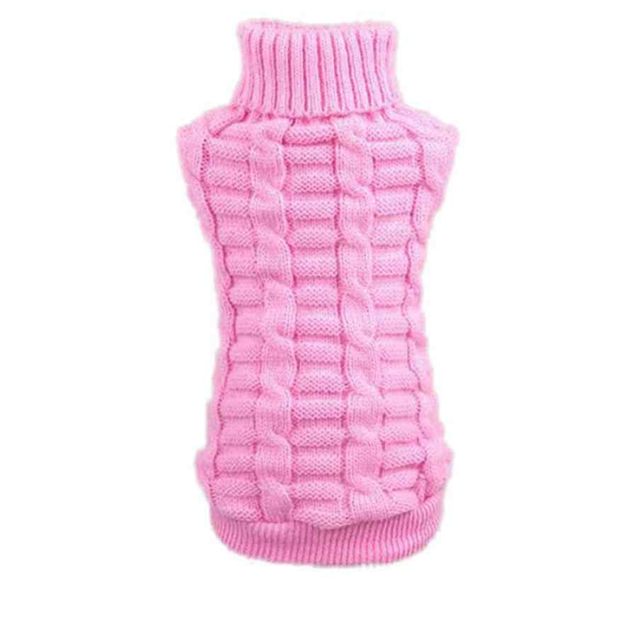 Dog Supplies Dog Dresses clothes 2018 Dog Clothes Pet Winter Woolen Sweater Knitwear Puppy Clothing Novel Drop shipping July9