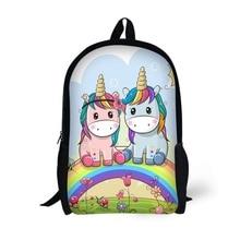 School backpack children backpack unicorn creative classic Printing for High School Backpacks for Teenagers