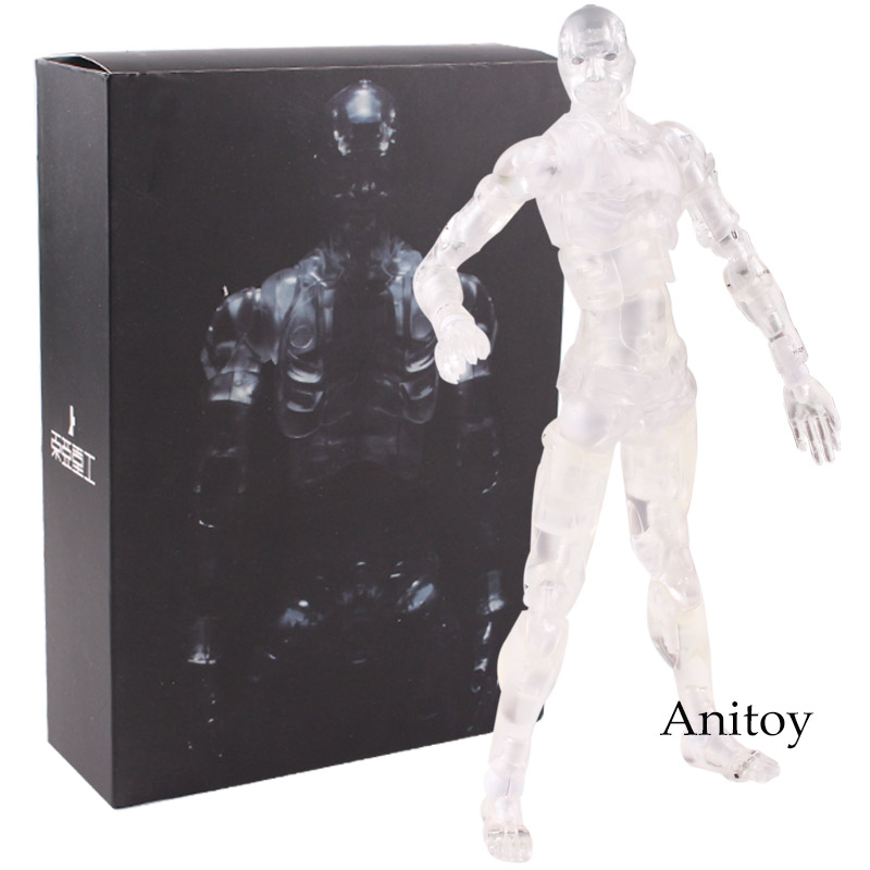 TOA Heavy Industries Synthetic Human Action Figure Transparent Color Ver. Figure Collectible Model Toy 15cm KT4788