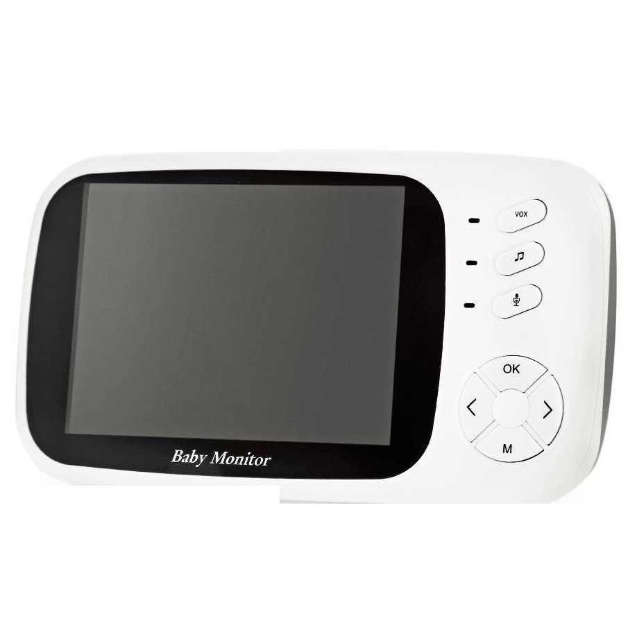 Babykam babyfoon met камера электронная няня 3,5 дюймов ЖК-датчик Температуры ИК ночного видения Домофон колыбельные плач детская камера