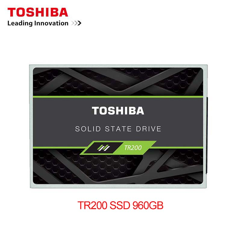 "Original Toshiba 960GB SSD TR200 Built-in Solid State Drive 5400RPM TLC 2.5"" 7mm SATA III 6Gb/s Internal SSD for Computer PC"