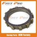 Placas de Fricção Da embreagem de Disco Conjunto de 9 pcs para BMW F700GS 13-15 F800GS 11-16 F800GT 13-16 F800S F800ST F800R 09-16 06-12