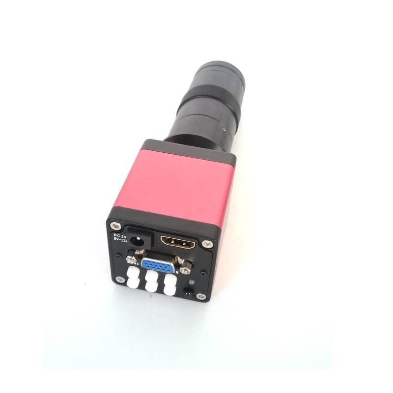 8X-130X увеличение зум c-крепление объектива + пульт дистанционного contorl 13MP 720 P 60FPS HDMI VGA для промышленного ремонта электронных телефонов