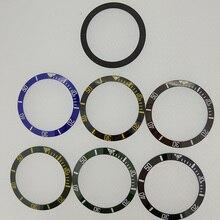 38mm קרמיקה להוסיף לוח 40mm גברים של שעון דגם PA2105 Parnis מקורי קרמיקה להוסיף לוח 40mm אוטומטי שעון