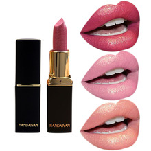 Mermaid Shiny Lipstick Metallic Shimmer Lipstick Moisturizer Lipstick Makeup Gradient Color Long-lasting Lip Stick Cosmetic