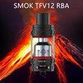 Original smok tfv12 rba/besta tfv12 nuvem de enchimento superior suporte 350 w cigarro eletrônico mod