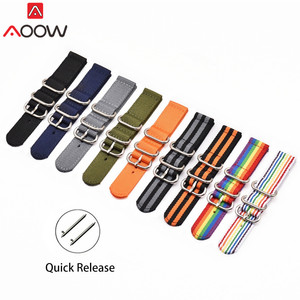 NATO Nylon Watchband 18mm 20mm